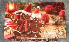 "WALMART CANADA 2017 GIFT CARD ""GINGERBREAD MAN & WOMAN"" NO VALUE CHRISTMAS NEW"