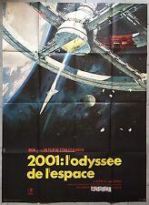 Affiche 2001 L'ODYSSEE DE L'ESPACE A Space Odyssey STANLEY KUBRICK Original