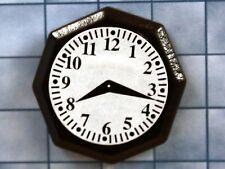 1:12 Scale Non Working Octagonal Ornamental Wall Clock Dolls House Accessory 281