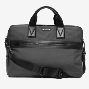 Color : Black QARYYQ Mens Briefcase Mens Laptop Bag Business Bag Multifunction Messenger Bag 40x9x30cm Business Briefcase