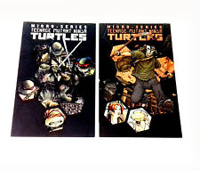 IDW Comics TMNT Teenage Mutant Ninja Turtles Graphic Novels Micro series Vol 1+2