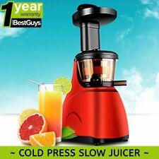 New SOGA Cold Press Slow Juicer Premium Masticating Fruit & Vegetable Extractor