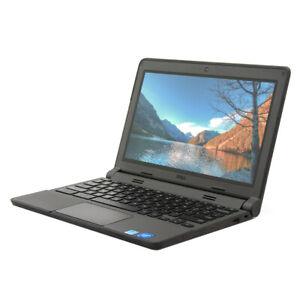 "Dell Chromebook 11 3120 11.6"" Touchscreen Laptop N2840 2.16GHz 4GB DDR3 16GB SSD"