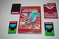 Star Strike Sears Intellivision Video Game Complete in Box