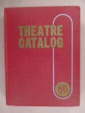 Theatre CATALOG - 1945 ~ Jay Emanuel Publications ~ cinema, movie, theater items