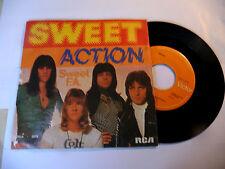 "THE SWEET"" ACTION-disco 45 giri RCA It 1975"" GLAM rock- PERFETTO"