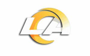Los Angeles Rams NEW LA Logo Sticker     Vinyl Decal