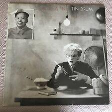 "Japan - Tin Drum - Original 12"" LP Virgin 1981 V2209"