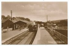 POSTCARDS-SCOTLAND-BANCHORY-RP. The Railway Station.