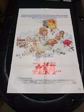 VTG 1 sheet Movie Poster The Red Tent 1971 Sean Connery Peter Finch Mario Adorf