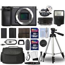 Cámara Digital Sony a6500 Mirrorles 4K Alpha & 16-50mm Lente Negro + 32GB Paquete