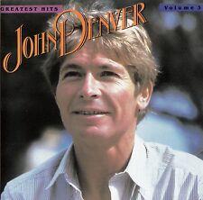 JOHN DENVER'S GREATEST HITS - VOLUME 3 / CD (RCA - PCD1-5313) - NEUWERTIG