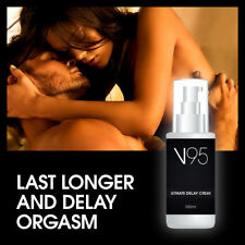 V95 ULTIMATE DELAY CREAM STOPS PREMATURE EJACULATION SO YOU WILL LAST LONGER