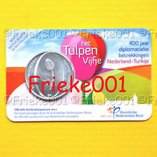 Nederland - Pays-Bas - 5 euro 2012 in blister.(Tulp)