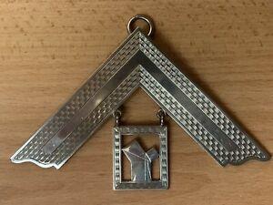 Masonic Silver Past Master Collar Jewel Hallmarked 1937