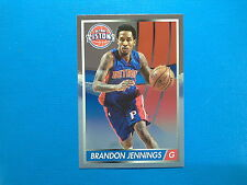 2015-16 Panini NBA Sticker Collection n.101 Brandon Jennings Detroit Pistons