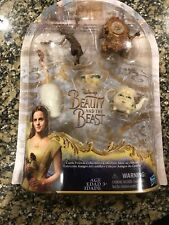 BEAUTY AND THE BEAST Disney CASTLE FRIENDS COLLECTION 5 Toy Figures NEW