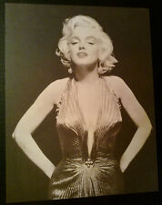 11x14 Large Photo Postcard~ MARILYN MONROE ~2002 ~Evening gown ~by Classico