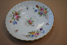 Minton Marlow China Wreath Backstam Rimmed Tea Saucer 5.5 inches