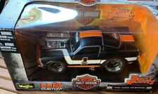 Muscle Machines Harley Davidson 1966 Ford Mustang 66 HD Maisto 1:24 Scale