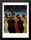 Waltzers 28x36 Extra Large Black Wood Framed Art Print by Jack Vettriano
