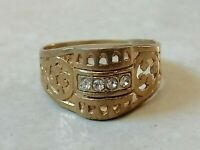 Ancient Antique Roman Legionary Ring Bronze Artifact Rare Type