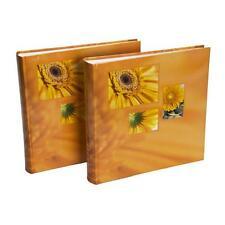 2x Hama Jumboalbum Singo orange für 400 Fotos 10x15 cm Fotoalbum Foto Album