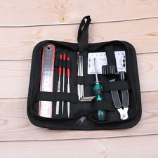 Electric Acoustic Guitar Repair Tool Kit Stainless Steel Abs Plastic Clean JD