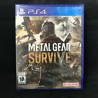 Metal Gear Survive (Sony PlayStation 4, 2018) BRAND NEW/ Region Free
