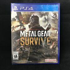 Metal Gear Survive (Sony PlayStation 4, 2018) BRAND NEW/ Region Free