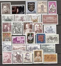 Österreich 1971 Kompletter Jahrgang Postfrisch ** MNH