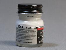 TESTORS PAINT MODEL MASTER FLAT WHITE 1/2oz 14.7ml plastic model car 1768 NEW