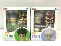 HUNTER x HUNTER Nendoroid Gon & Killua Painted Movable Figure 2PCS SET JAPAN DHL