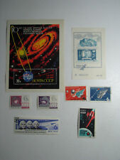Set of 82 Stamps + 2 Blocks Russia Soviet Union Cosmos Space Exploration Program