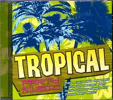 TROPICAL PARTY MUSIC: SONGS OF CARIBBEAN & HAWAIIAN ISLANDS LUAU & TIKI BAR! OOP