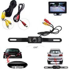 Waterproof CMOS Car License Plate Rear View Reverse Backup Night Vision Camera Z