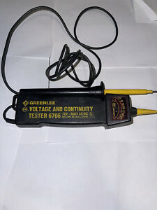 greenlee voltage and Continuity tester 6706
