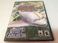 Airline Tycoon 2 Gold Edition PC Game DVD-ROM NEW