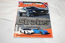 TOP GEAR Magazine January 2011 Issue UK Edition New Stratos