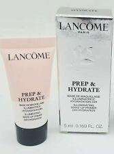 Lancome Prep & Hydrate Illuminating Make Up Primer 24H Hydration 5ml NIB