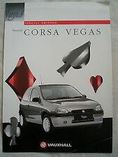 Vauxhall Corsa Vegas brochure Sep 1996