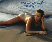 KAREN McDOUGAL 1998 PLAYBOY PLAYMATE OF THE YEAR SEXY SIGNED PHOTO  (IN9)