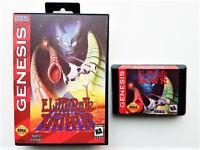 Eliminate Down - Sega Genesis Game / Case - SHMUP Shooter - English (USA Seller)