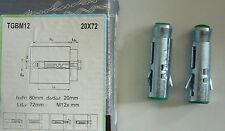 10 Schwerlastdübel TGBM 12 72 mm/ M12