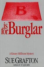 b Is For Burglar (kinsey Millhone Mysteries): By Sue Grafton