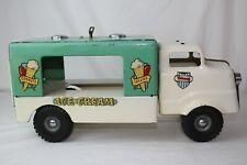 1950's Triang Pressed Steel Musical Ice Cream Truck, Original