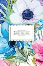 Bullet Journal Beyond the Soul: Watercolor Flower Book Journal - 130 Dot Grid...