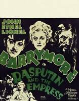 OLD MOVIE PHOTO Rasputin And The Empress Poster Top John Barrymore