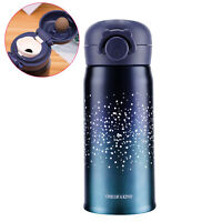 Water Bottle Thermoses, Stainless Steel Vacuum Insulated Water Flask Cup - 12oz
