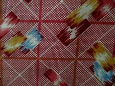 """VTG COLORFULL Cotton Fabric 4 3/4 YDS Yards X 36""""W"""